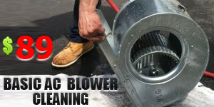 AC Blower Cleaning Coupon